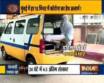 Dahisar: Long que of ambulances with dead bodies await last rites