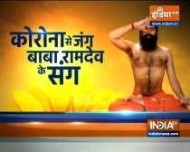 Swami Ramdev shares yoga asanas, pranayamas for anger management