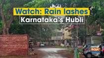 Watch: Rain lashes Karnataka