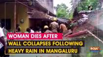 Woman dies after wall collapses following heavy rain in Mangaluru