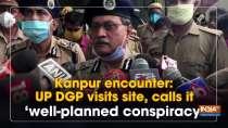 Kanpur encounter: UP DGP visits site, calls it