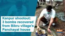 Kanpur shootout: 3 bombs recovered from Bikru village