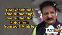 CM Gehlot has said audio clips are authentic: Rajasthan Transport Minister