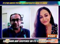Kaveri Priyam extends her wishes as Saas Bahu Aur Suspense completes five years