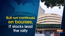 Bull run continues on bourses, IT stocks lead the rally