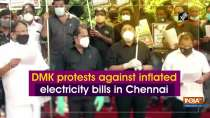 DMK protests against inflated electricity bills in Chennai