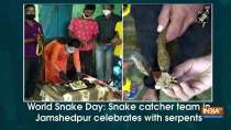 World Snake Day: Snake catcher team in Jamshedpur celebrates with serpents