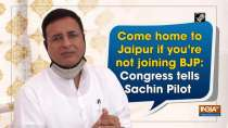 Come home to Jaipur if you