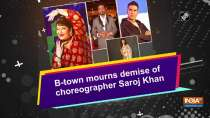 B-town mourns demise of choreographer Saroj Khan