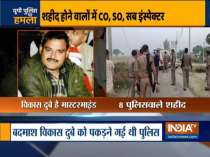 8 cops martyred during an encounter with wanted gangster in Kanpur