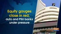 Equity gauges close in red, auto and PSU banks under pressure