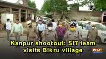 Kanpur shootout: SIT team visits Bikru village