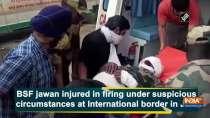 BSF jawan injured in firing under suspicious circumstances at International border in JK