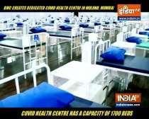 Watch: BMC creates 1700-bed Covid dedicated health centre in Mulund, Mumbai