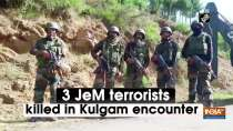 3 JeM terrorists killed in Kulgam encounter