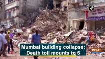 Mumbai building collapse: Death toll mounts to 6