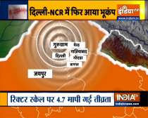 Earthquake of magnitude 4.7 hits Delhi-NCR