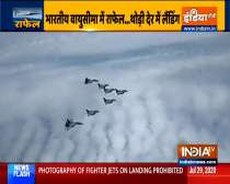 5 rafale fighter jets enter Indian air space