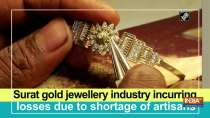 Surat gold jewellery industry incurring losses due shortage of artisans