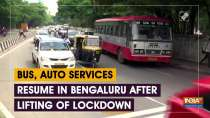 Bus, auto services resume in Bengaluru after lifting of lockdown