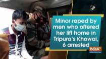 Minor raped by men who offered her lift home in Tripura