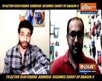 TV actor Vijayendra Kumeria on resuming shoot amid coronavirus crisis