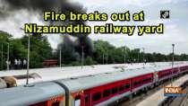Fire breaks out at Nizamuddin railway yard