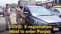 COVID: E-registration must to enter Punjab
