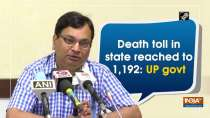 Death toll in state reached to 1,192: UP govt