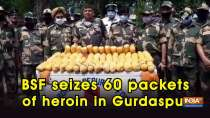 BSF seizes 60 packets of heroin in Gurdaspur