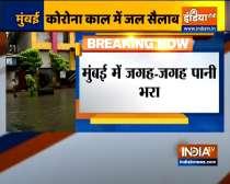Mumbai rains: Heavy waterlogging in Dadar, Hindmata