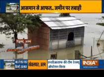 Heavy monsoon rain triggers flood-like situation in parts of country, water level in major rivers on the rise