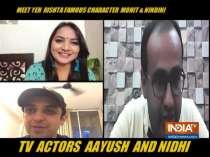 In conversation with Yeh Rishta Kya Kehlata Hai actors Nidhi Uttama and Ayush Agarwal