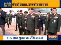 CDS General Bipin Rawat to visit Leh today amid tension with China at LAC