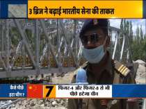 Three new bridges by BRO help Indian Army move tanks to Eastern Ladakh border