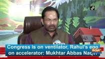 Congress is on ventilator, Rahul