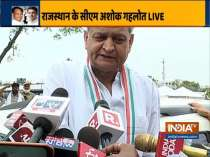 Horse trading was being done in Jaipur and Deputy CM himself was involve in it, says CM Ashok Gehlot