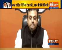 BJP accuses Congress of illegal phone tapping, Sambit Patra asks 5 questions