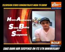 TV stars congratulate SBAS as the show completes five years