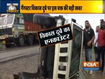 Vikas Dubey shot dead in encounter after car carrying gangster overturns in Kanpur