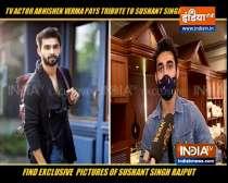 TV actor Abhishek Verma pays tribute to Sushant Singh Rajput