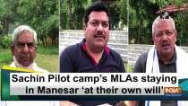 Sachin Pilot camp