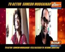 Radhakrishn actor Sumedh Mudgalkar on shooting amid the new normal