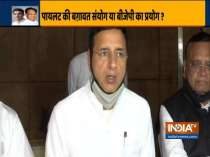 Congress leader Randeep Surjewala makes a last minute appeal to MLAs to attend CLP meeting