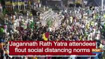 Jagannath Rath Yatra attendees flout social distancing norms