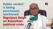 Public verdict is being purchased, auctioned: Digvijaya Singh on Rajasthan political crisis