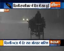 Heavy rain followed by strong winds and thunderstorm lashes Delhi-NCR