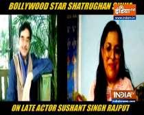 Shatrughan Sinha remembers Sushant Singh Rajput