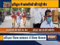 Kanwariyas entering Haridwar to be quarantined for 14 days
