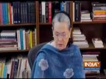 CWC meet begins, Sonia Gandhi offers to resign as interim Congress president